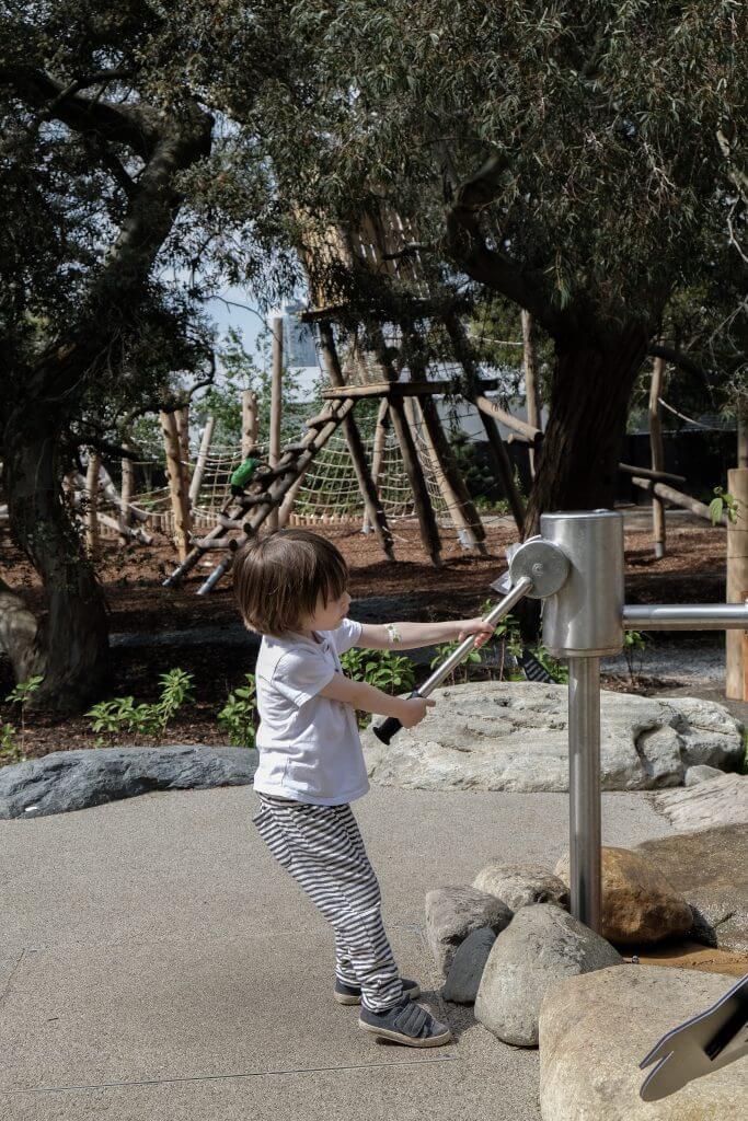 Water Garden at Kew Children's Garden