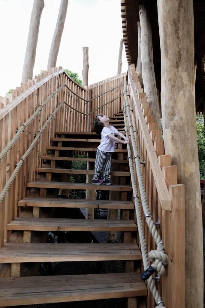 Aerial Walkway Kew Children's Garden