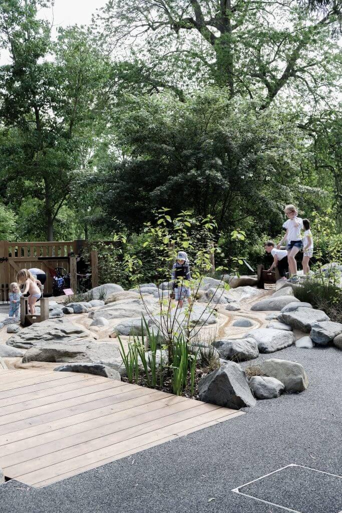 Rockpool at Kew Children's Garden