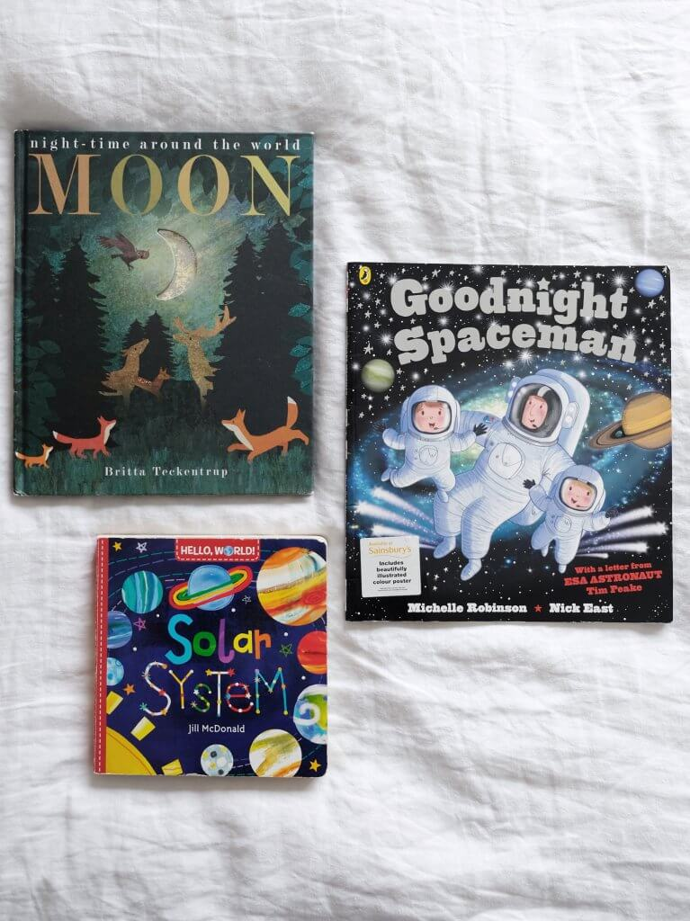 Books about space for toddlers