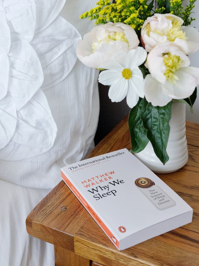 Why we sleep book by Matthew Walker